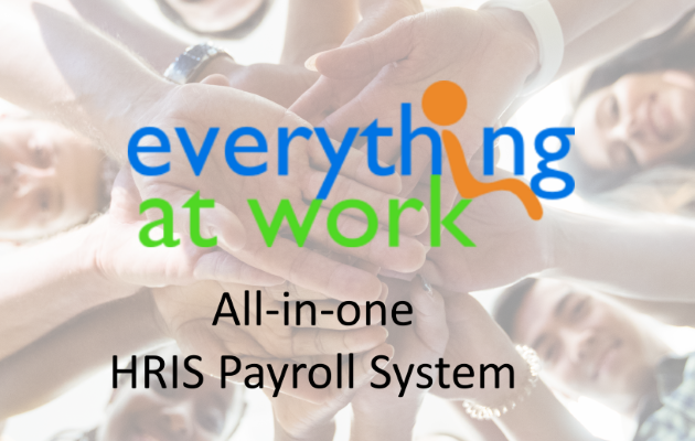 Everything at Work HRIS and Payroll System